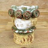 소향 수제화분(중사이즈/색유약분)-12|Handmade Flower pot