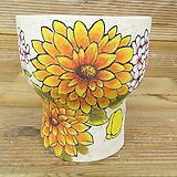 소향 수제화분(흑상감/무시유/중대사이즈)-20|Handmade Flower pot