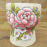 소향 수제화분(흑상감/무시유/중대사이즈)-22|Handmade Flower pot