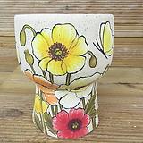 소향 수제화분(흑상감/무시유/중대사이즈)-26|Handmade Flower pot
