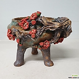 흙고을 매화수제화분|Handmade Flower pot