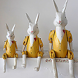 윤식당 토끼 노랑색 인테리어 소품|