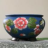 수제화분 글로리아C(블루) Handmade Flower pot