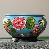 수제화분 글로리아C(하늘) Handmade Flower pot