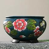 수제화분 글로리아C(청록) Handmade Flower pot