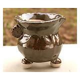 국산수제화분 도향#25354(청록) Handmade Flower pot