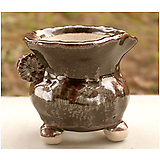 국산수제화분 도향#25356(브라운) Handmade Flower pot