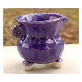 국산수제화분 도향#25358(블루) Handmade Flower pot