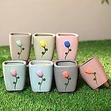 수제화분 한송이 Handmade Flower pot