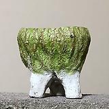 수제화분 투톤트임분1(연두) Handmade Flower pot