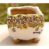 국산수제화분(정화분)#34695 Handmade Flower pot