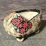 국산수제화분 도향 꽃신1(빨강)|
