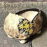 국산수제화분 도향 꽃신1(노랑)|