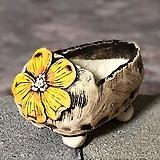국산수제화분 도향 꽃신2(노랑)|