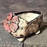 국산수제화분 도향 꽃신2(분홍)|