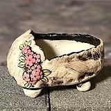국산수제화분 도향 꽃신3(분홍)|