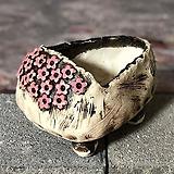 국산수제화분 도향 꽃신4(분홍)|