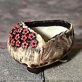 국산수제화분 도향 꽃신4(빨강)|