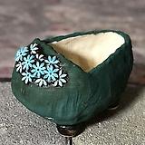 국산수제화분 도향 꽃신5(파랑)|
