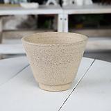 돌화분  화산석 화분(특대형) - 최고급 수제 화분 작가도예-YXL-특대형-원형
