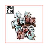 수제화분토리3-5브라운(미니화분)