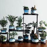 수제화분 미드나잇블루|Handmade Flower pot