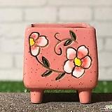 수제화분 비앙카사각분A|Handmade Flower pot