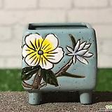 수제화분 비앙카사각분B|Handmade Flower pot