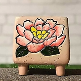 수제화분 비앙카사각분C|Handmade Flower pot