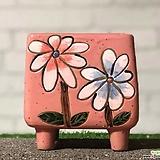 수제화분 비앙카사각분D|Handmade Flower pot