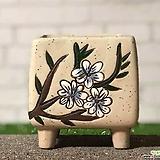 수제화분 비앙카사각분F|Handmade Flower pot