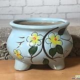 수제화분 달보드레A(연파랑)|Handmade Flower pot