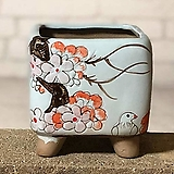 수제화분 달보드레B(연파랑)|Handmade Flower pot