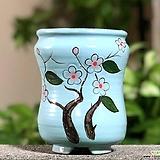수제화분 달보드레D(연파랑)|Handmade Flower pot