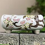 수제화분 달보드레E(화이트)|Handmade Flower pot