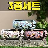 수제화분 달보드레E(3종세트)|Handmade Flower pot