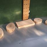 통나무슬라이스5개1묶음-원예자재용xp-4471|