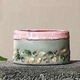 수제화분 자갈자갈(A.핑크타원)|Handmade Flower pot
