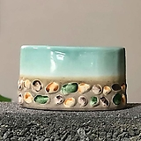 수제화분 자갈자갈(B.블루타원)|Handmade Flower pot