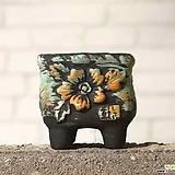 수제화분 빈티지2-D|Handmade Flower pot