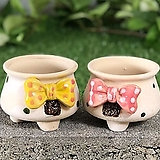 수제화분 리본분2|Handmade Flower pot