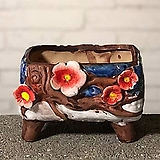 수제화분 코사지2|Handmade Flower pot