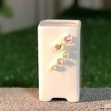 수제화분 화이트가든1|Handmade Flower pot