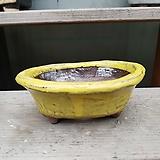 dm 107 노랑 수제화분 다육이화분 Handmade Flower pot