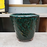 dm 108 녹색 수제화분 다육이화분 Handmade Flower pot