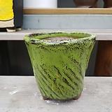 dm 108 연두 수제화분 다육이화분 Handmade Flower pot