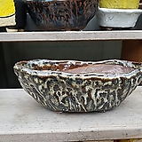dm-111 갈색 수제화분 다육이화분 Handmade Flower pot