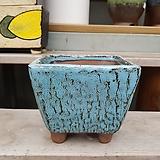 dm-109 사각 중형 수제화분 다육이화분 Handmade Flower pot