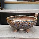 청색 타원 수제화분 다육이화분|Handmade Flower pot