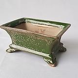 S-100 직사각 수제화분 다육이화분|Handmade Flower pot